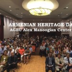 Audience at AGBU AHD with text