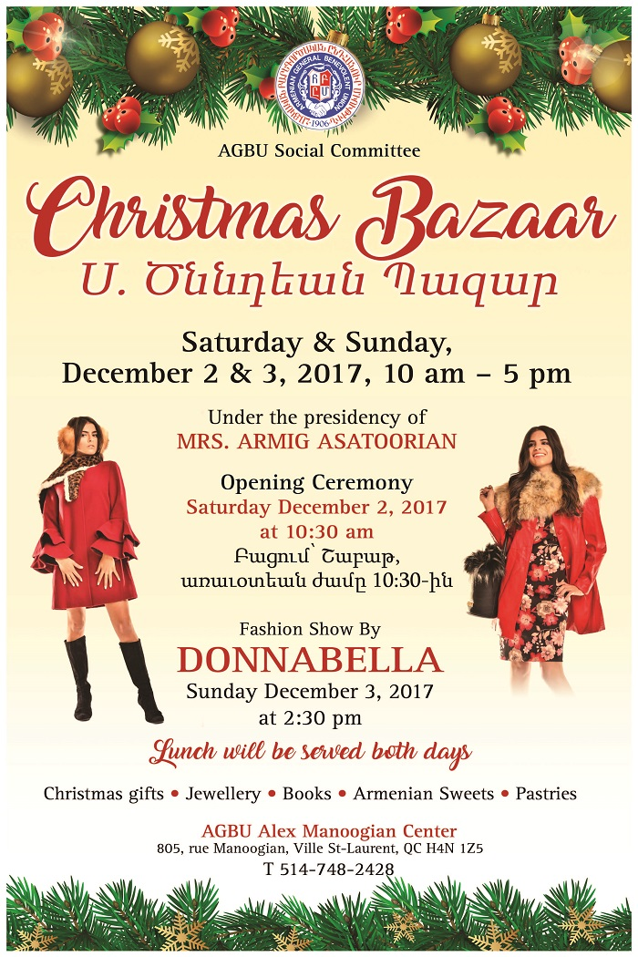poster bazar body image - When Is Armenian Christmas